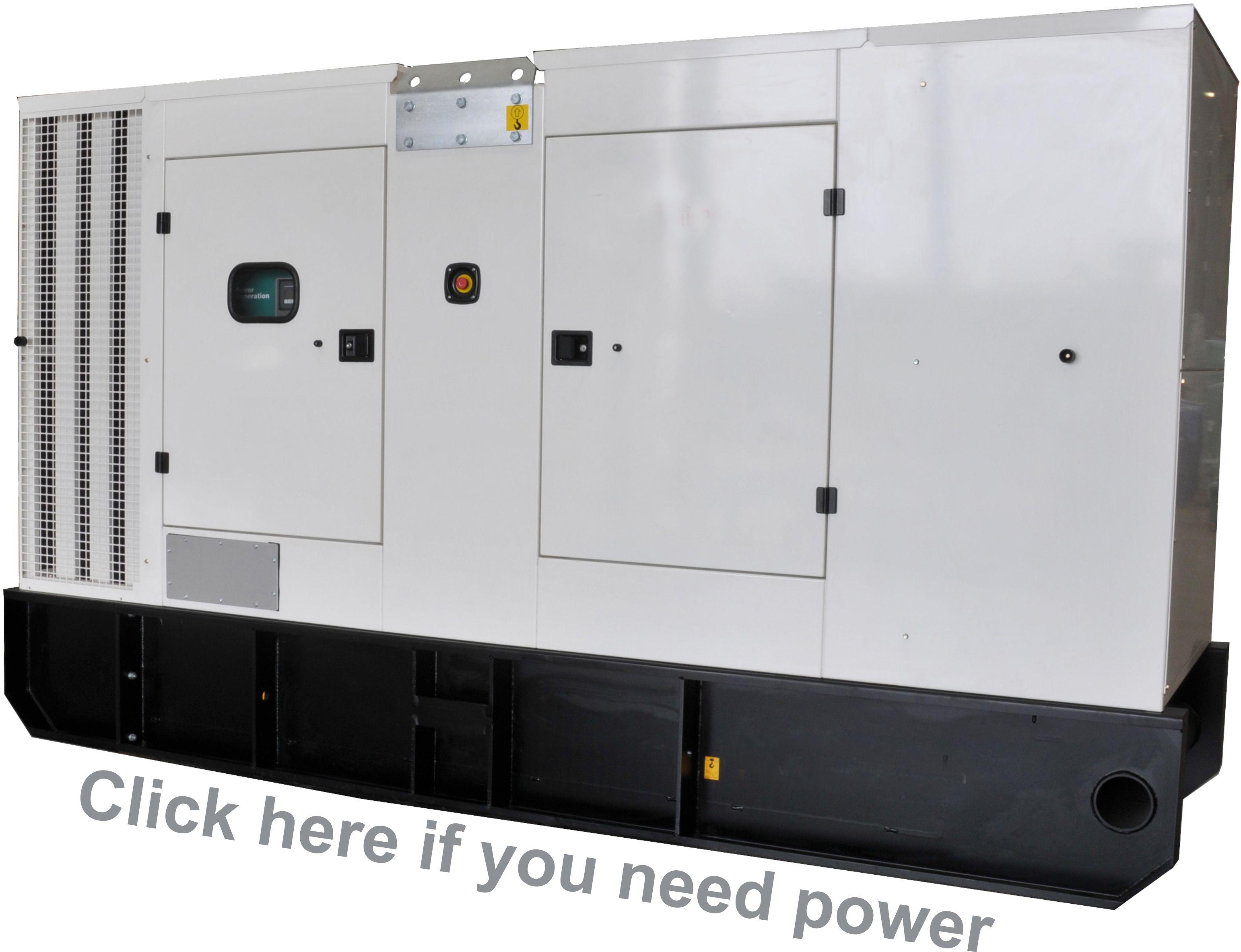 C250D2R Cummins Rental Generator